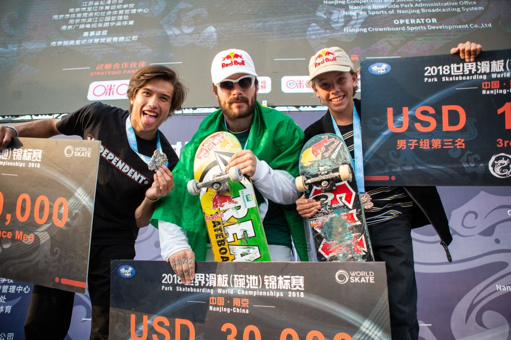 mens podium world skate