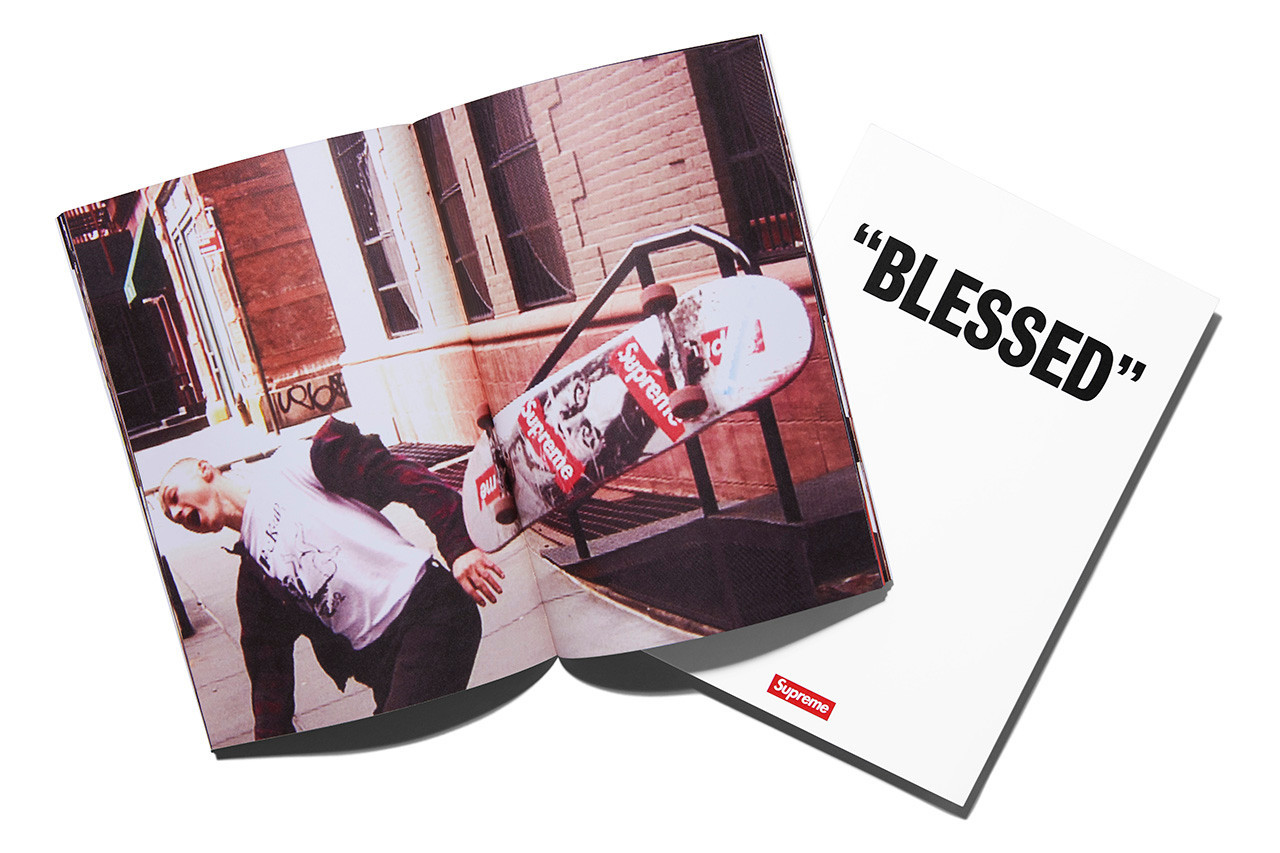 SUPREME'S 'BLESSED' IS COMING WITH SHIRT AND BOOK