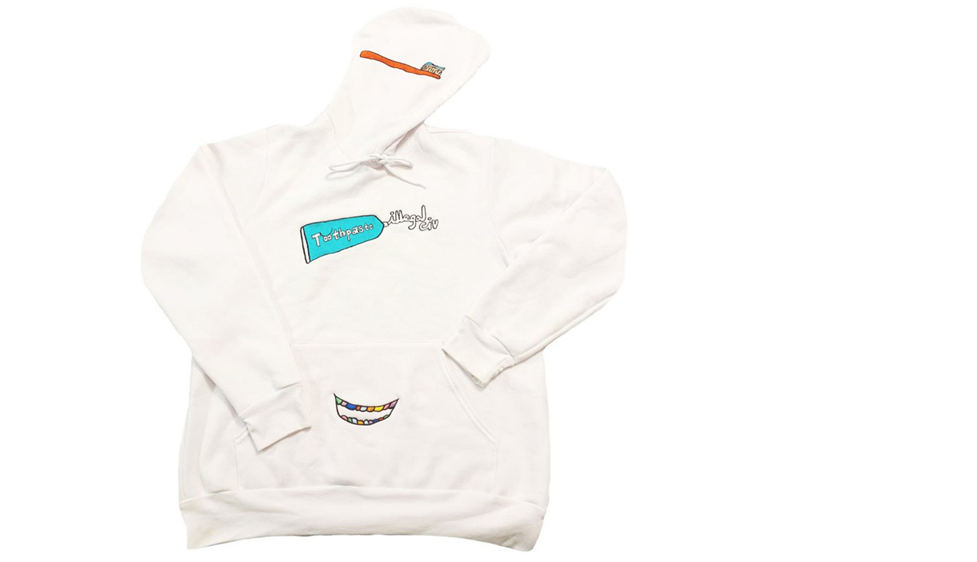 CHOMP ON THIS: ILLEGAL CIV TOOTHPASTE HOODIE ON SALE FOR ONLY 24 HOURS