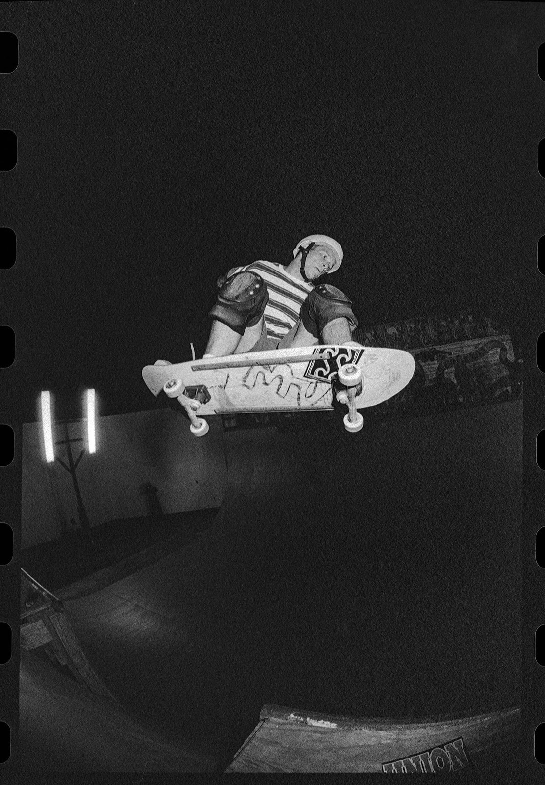 Chris Miller, Ollie Channel to Truck Bash, 1992 (?) SUAS, Houston, Texas