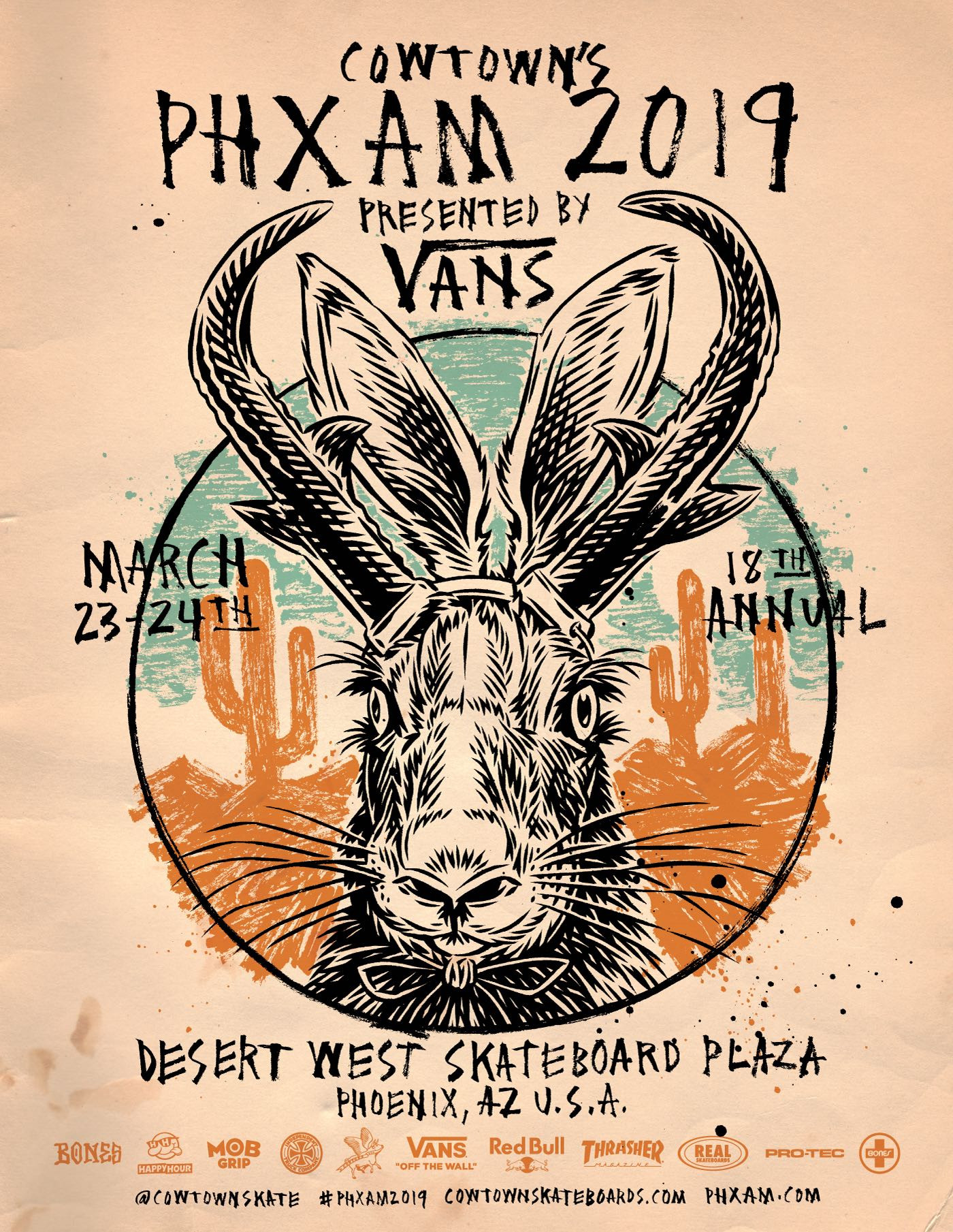 COWTOWN ANNOUNCES PHXAM 2019 DATES