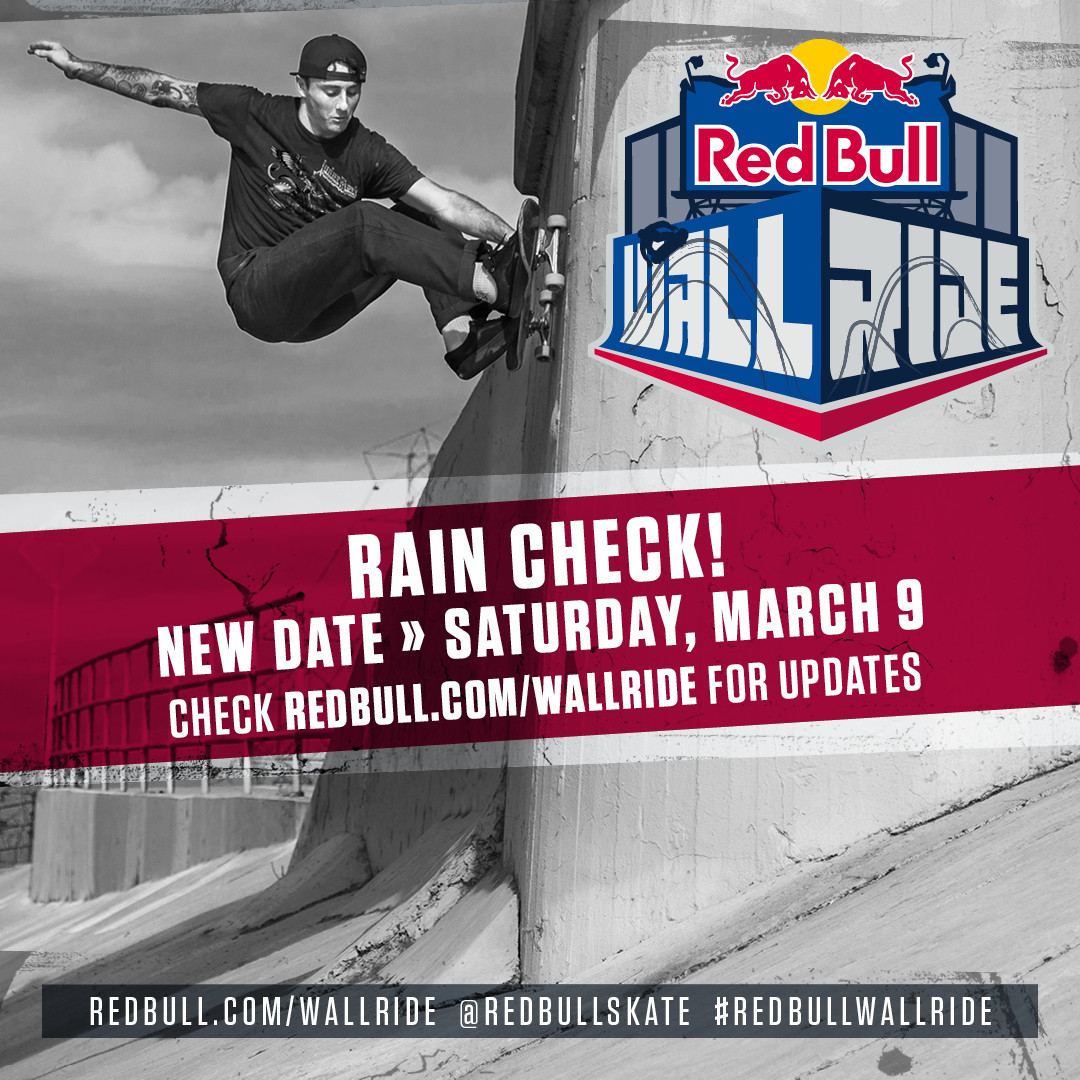 RED BULL'S WALLRIDE CONTEST LANDS IN LOS ANGELES NEXT MONTH
