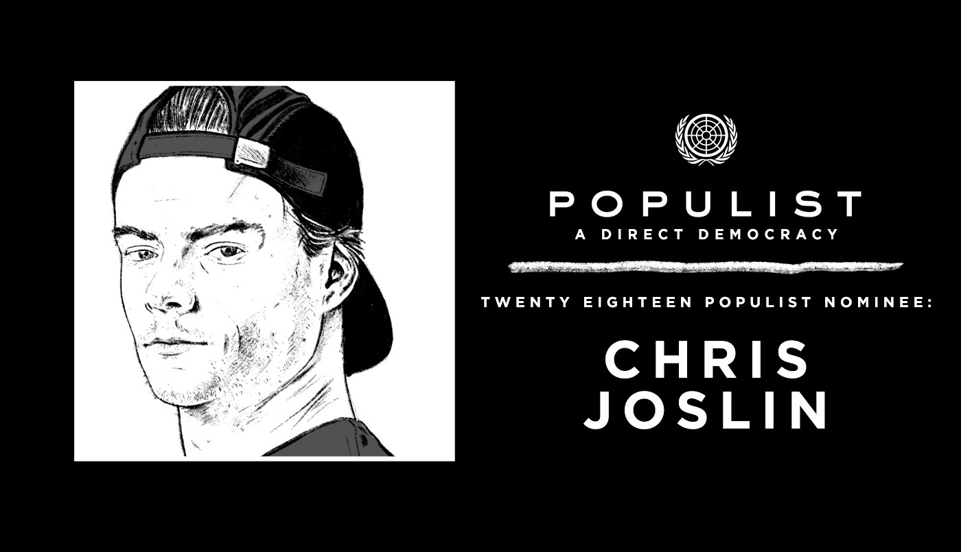 populist 2018 chris joslin