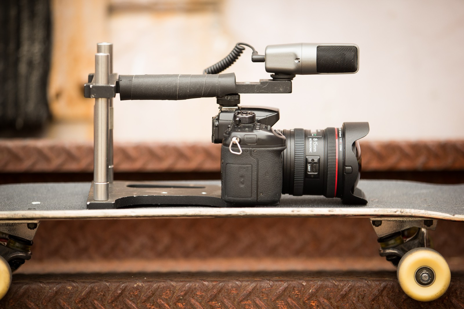 WOODEN CAMERA REMAKES HISTORY WITH NEW VX SKATEBOARD CAMERA MIC