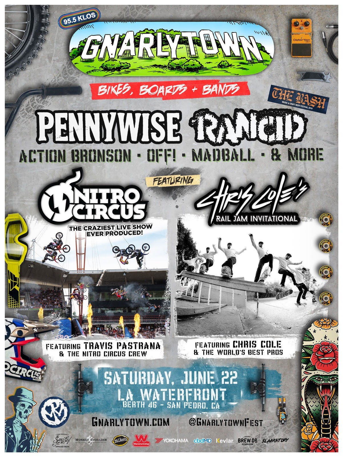 CHRIS COLE'S 'RAIL JAM INVITATIONAL' SCHEDULED FOR JUNE AT GNARLYTOWN FEST