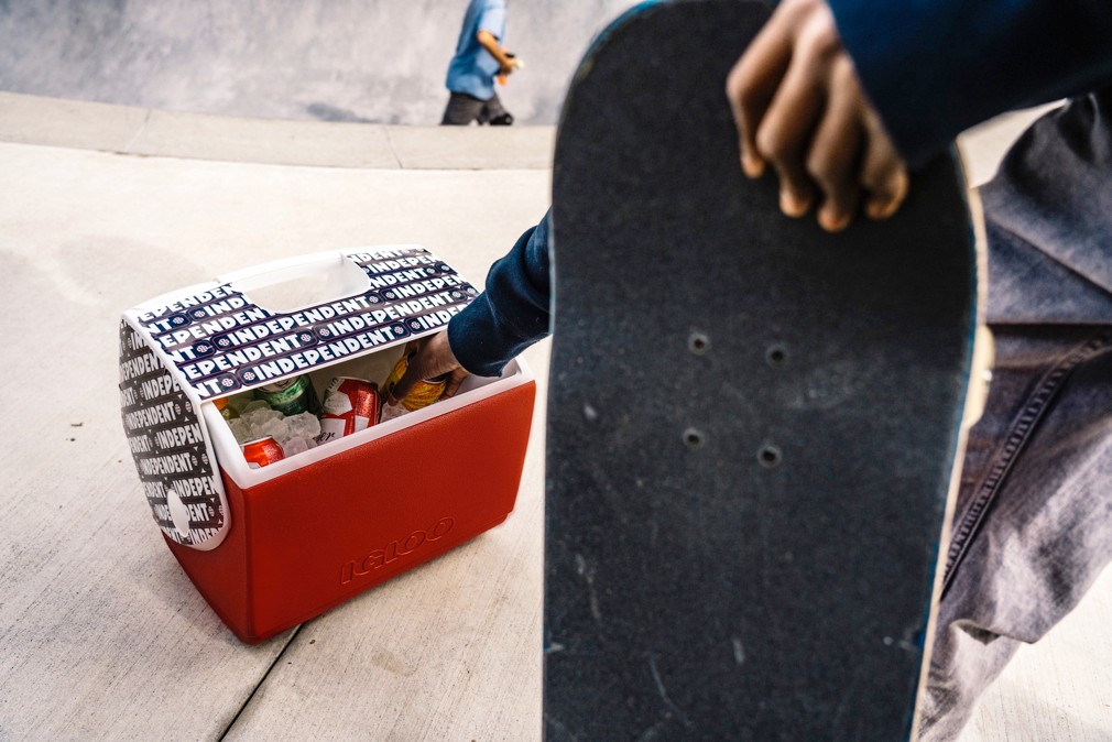 WATCH THE IGLOO COOLERS X INDEPENDENT TRUCK CO. BACKYARD BOWL SESH
