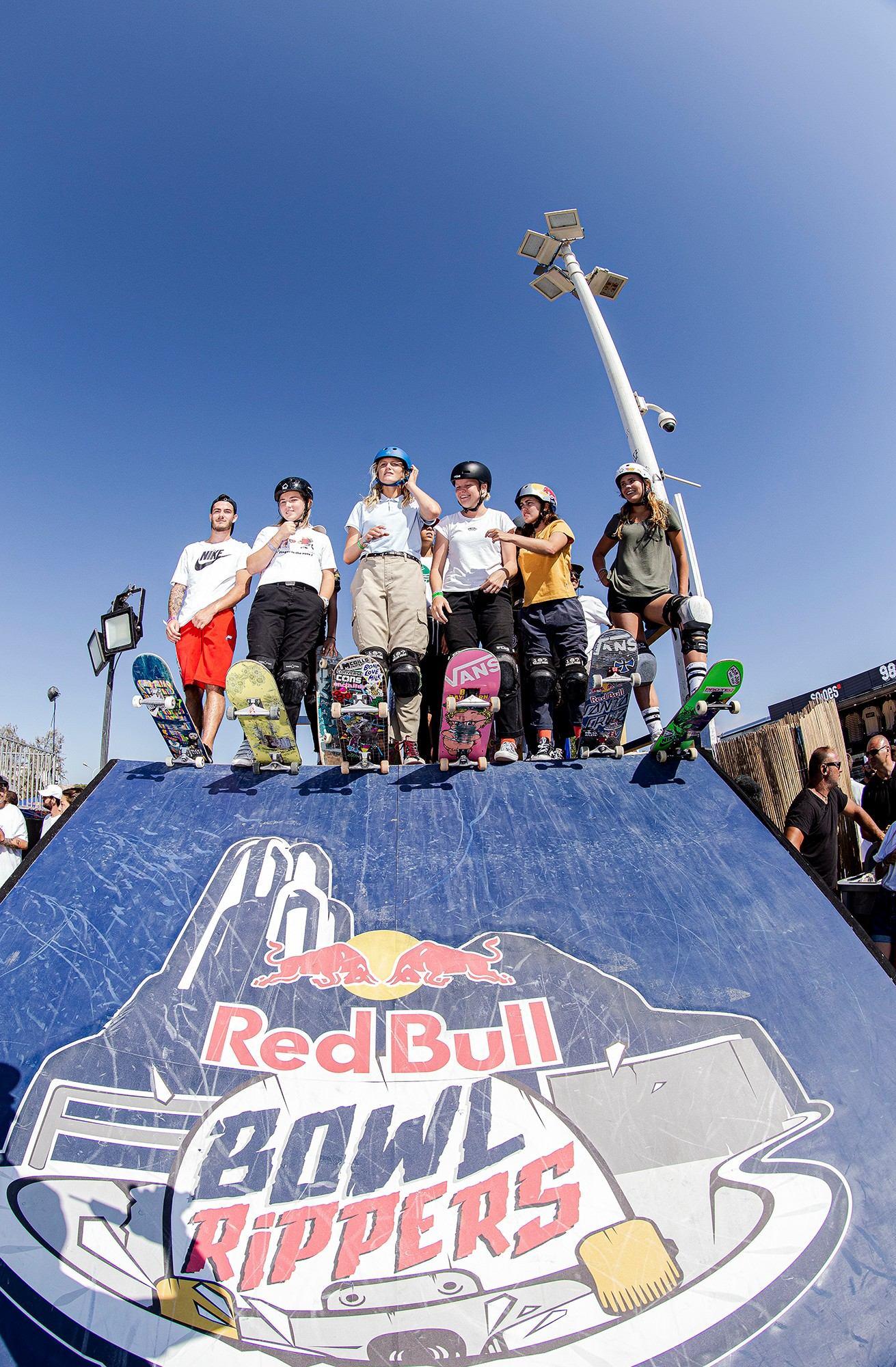 Red Bull Rippers Marseille Roll in Ramp