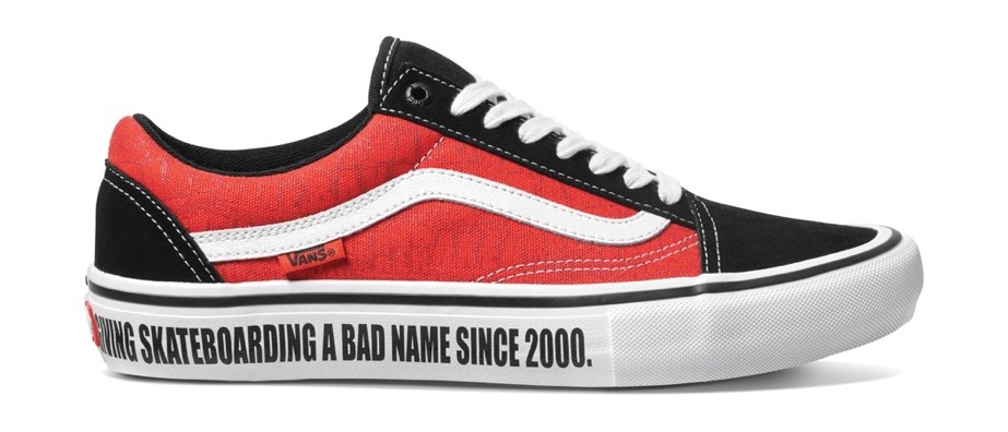 THE VANS X BAKER COLLECTION IS 100% STREET SKATEBOARDING—AND THEN SOME