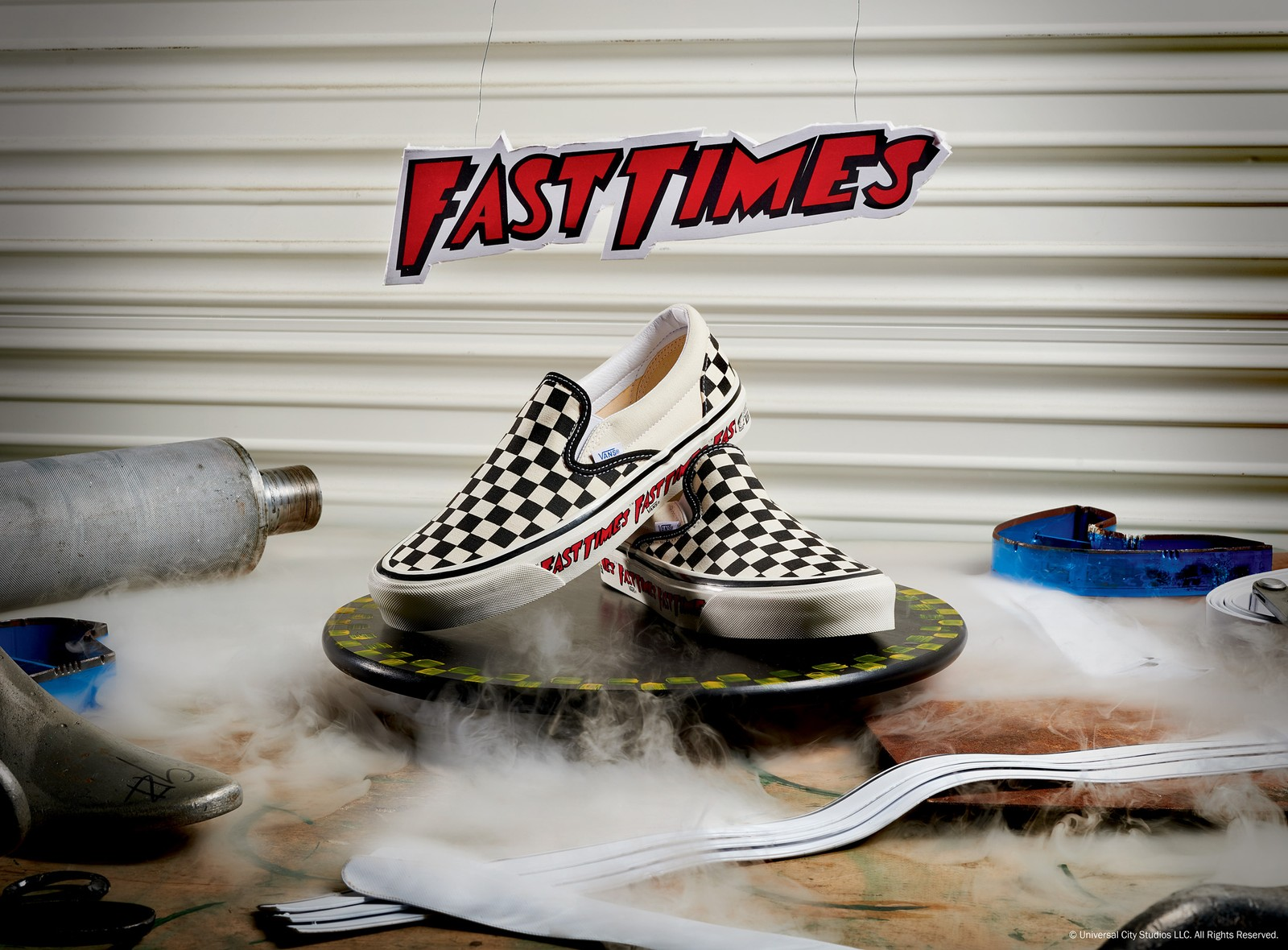Vans Will Reissue 'Fast Times At Ridgemont High' Classic Slip-On Next Month