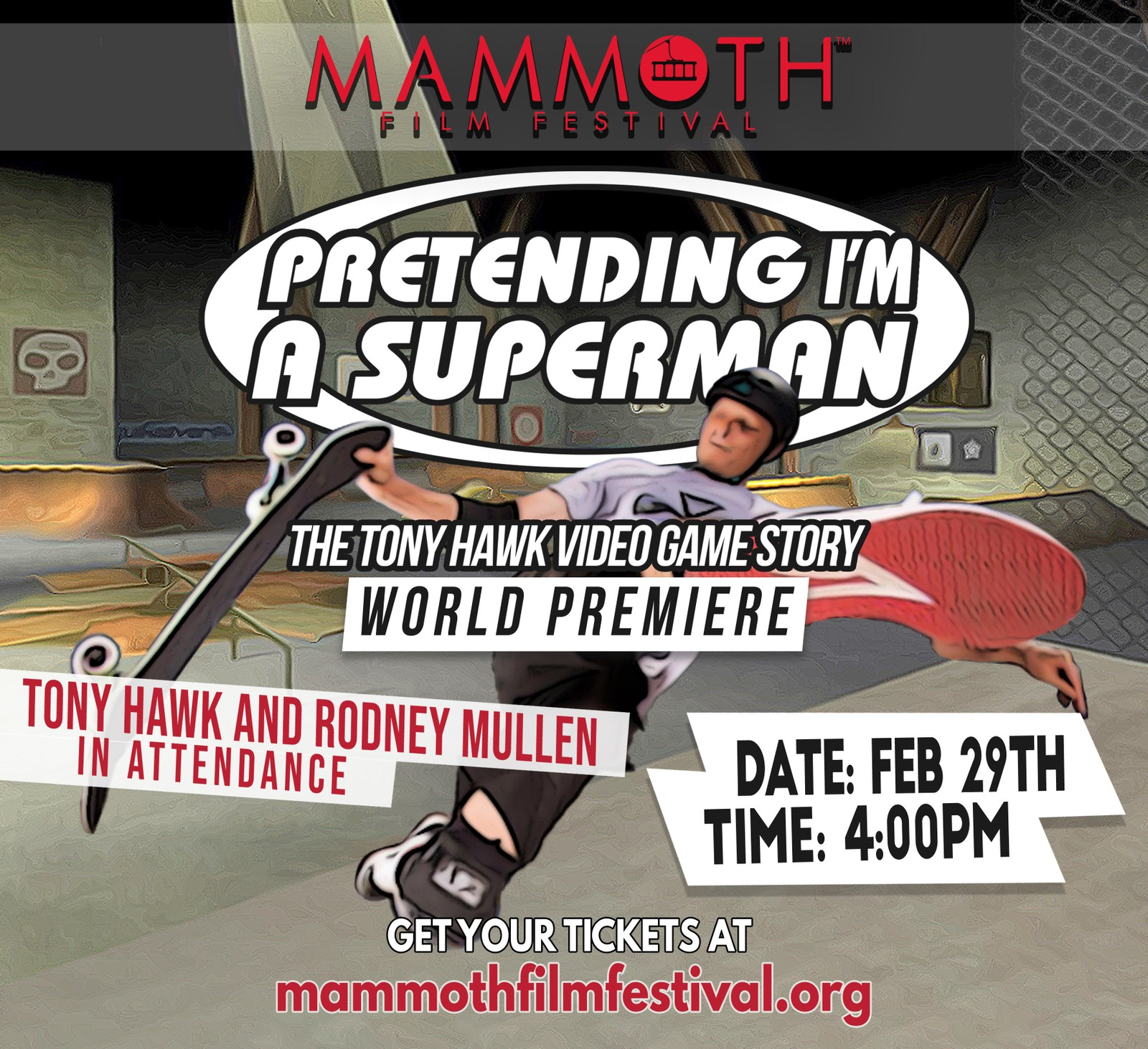 See Tony Hawk & Rodney Mullen In Person At Mammoth Lakes Film Festival This Month