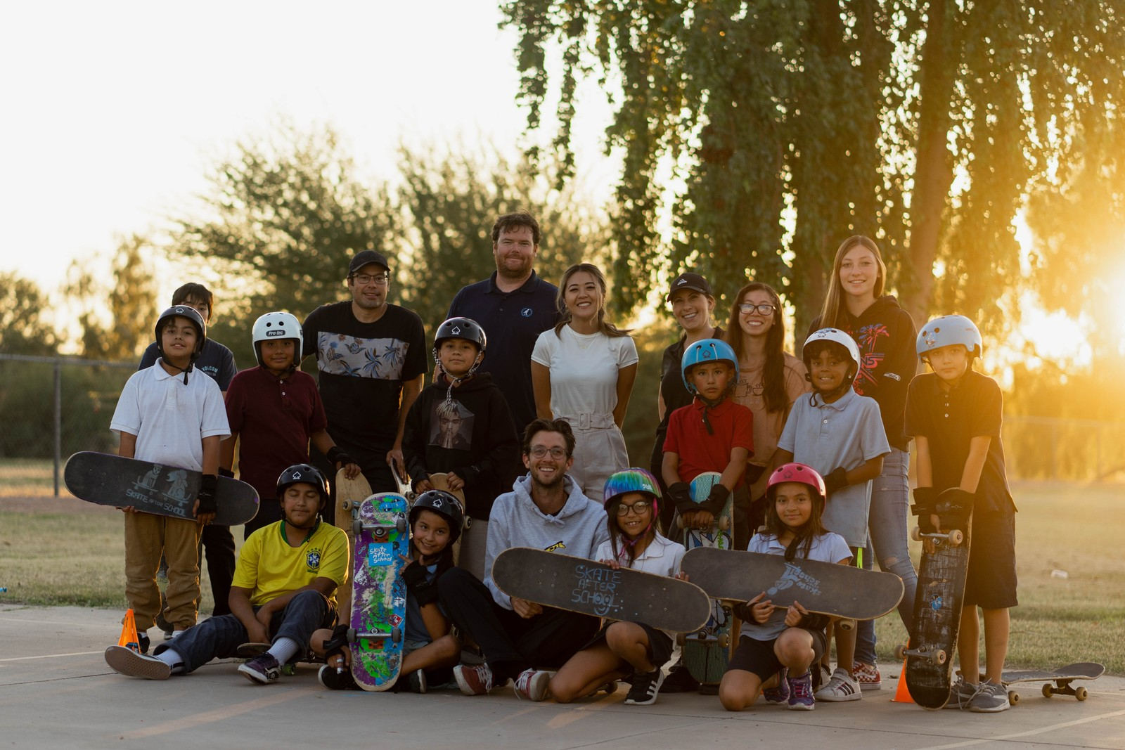 'Skate After School' Launches New Program Distributing Boards To Arizona Kids
