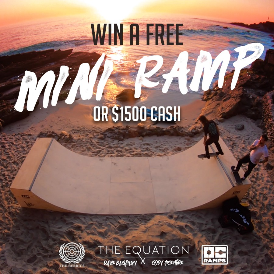 Enter OC Ramps' Holiday Video Contest To Win a Miniramp