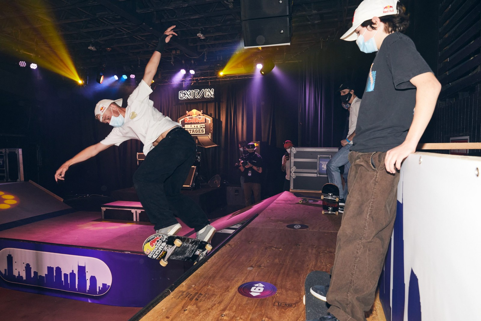Red Bull Turns Nashville Music Venue Exit/In Into Skatepark For 'Skate Nash Stages'