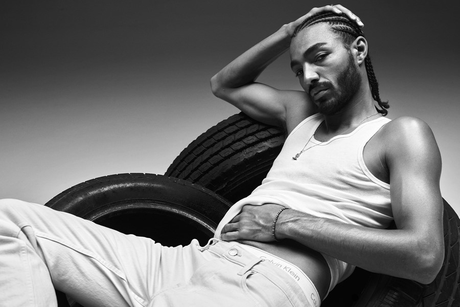 'Another' Interviews Sage Elsesser About Modeling For Calvin Klein