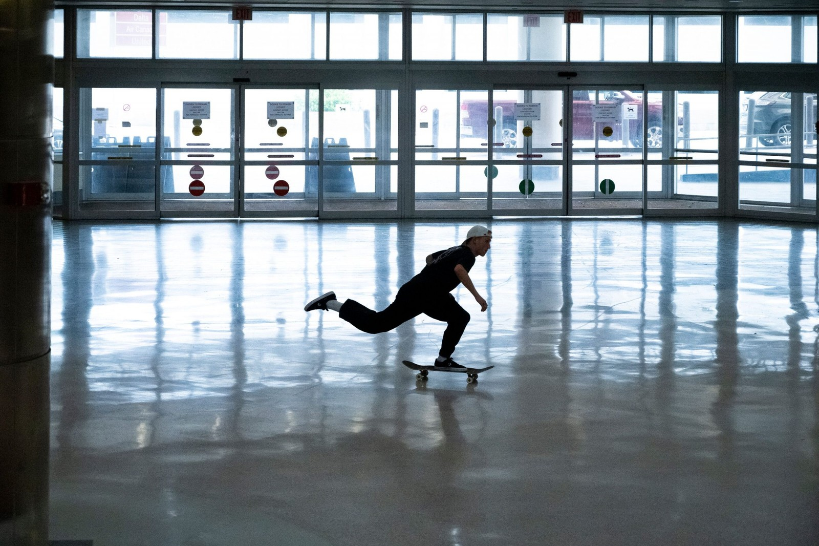 Jake Wooten Skates Abandoned Airport In Red Bull's Terminal Takeover