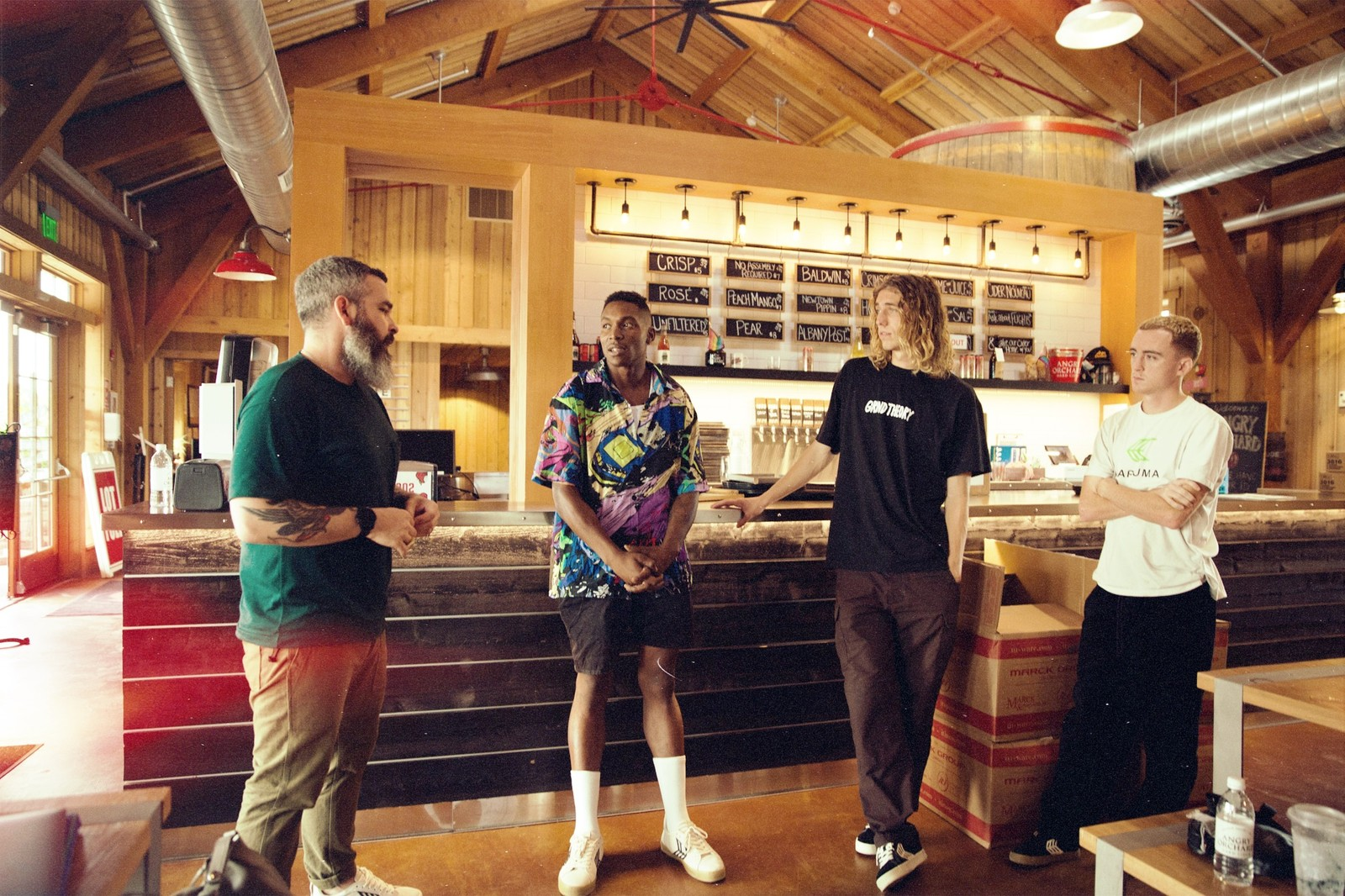 Skategoat and BRYTE Visit Angry Orchard, Come Back With Collaboration
