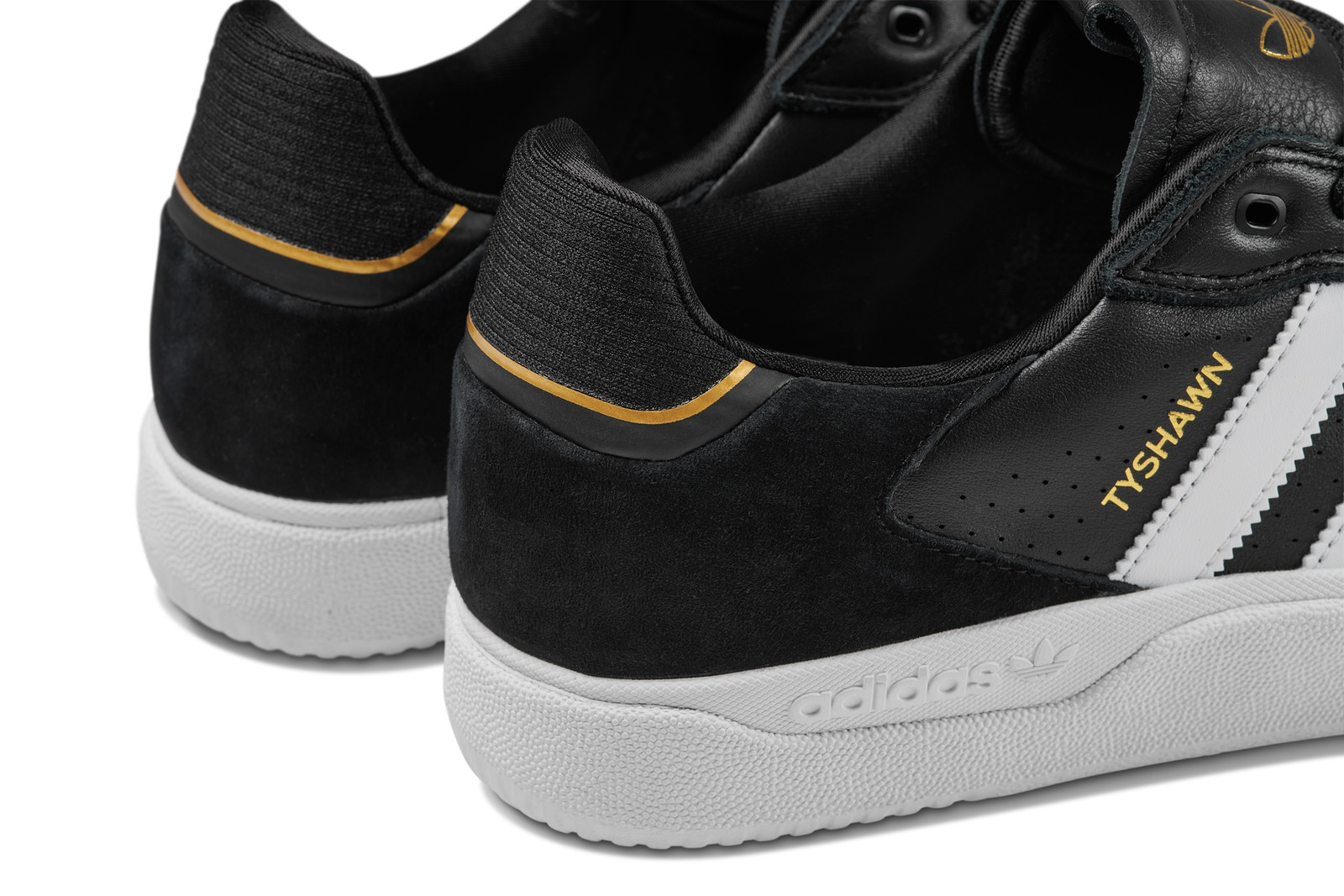 Adidas' Tyshawn Low Black/White Colorway Available Now