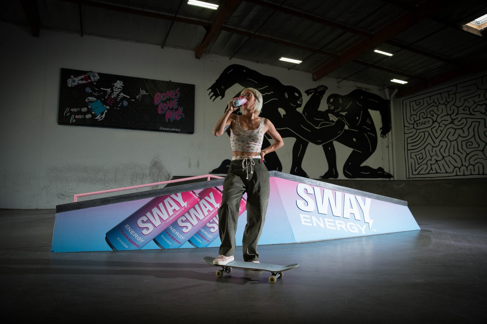 SWAY Energy Drink and The Berrics Announce New Partnership