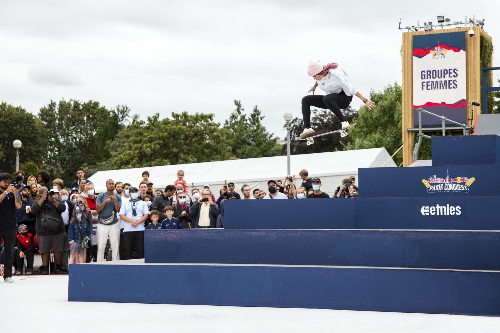 Trevor McClung and Leticia Bufoni Take Top Honors At Red Bull's 'Paris Conquest'