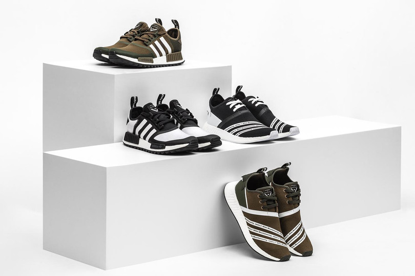 Giveaway: adidas Originals x White Mountaineering 2017 Fall/Winter Collection NMDs