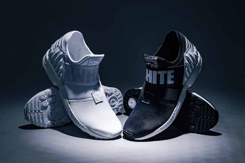 White Mountaineering x adidas Originals ZX Flux Plus