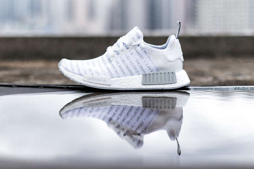 """adidas Originals NMD R1 """"Whiteout"""" Drops Now On HBX"""