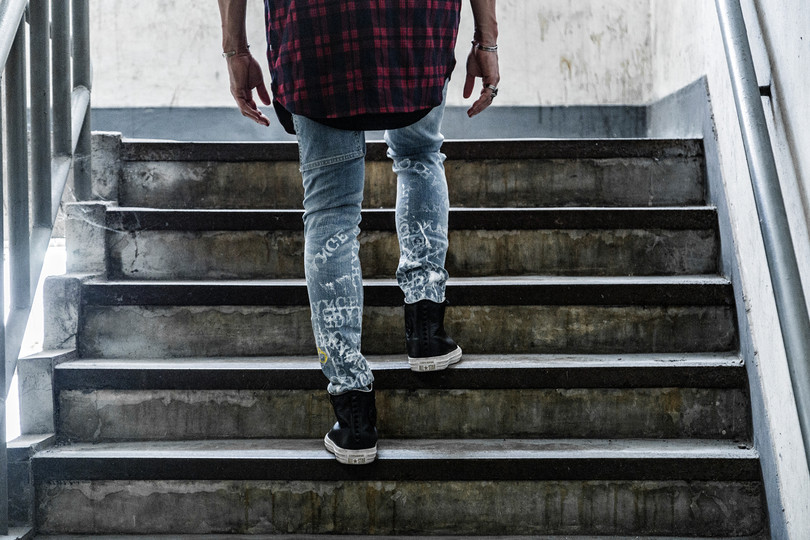 Interview: Rising Denim Customizer Val Kristopher Reveals His Distressing Techniques