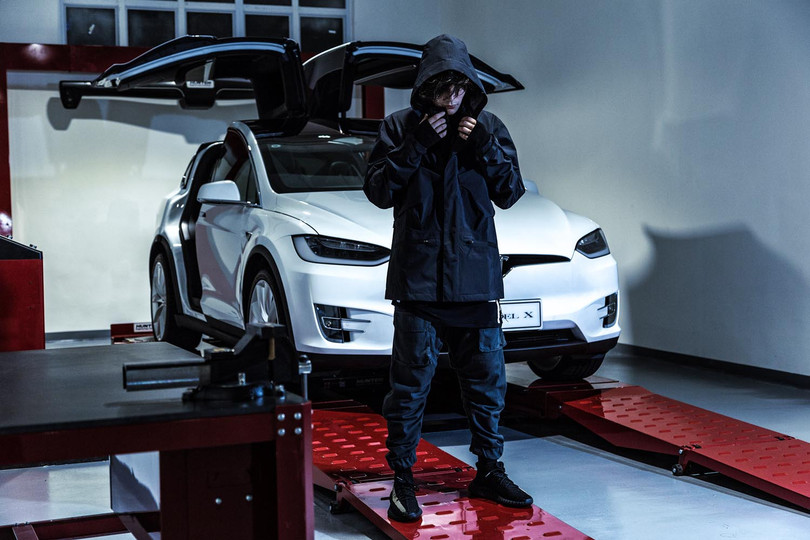 "HBX x Tesla Model X ""Functional Streetwear"" Edit"