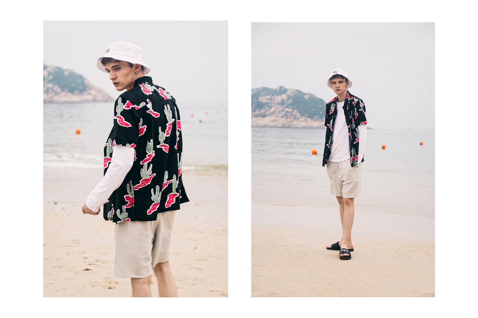 HBX 2017 Summer Editorial Highlighting brands from Stussy, Champion, have a good time, stone island and more...