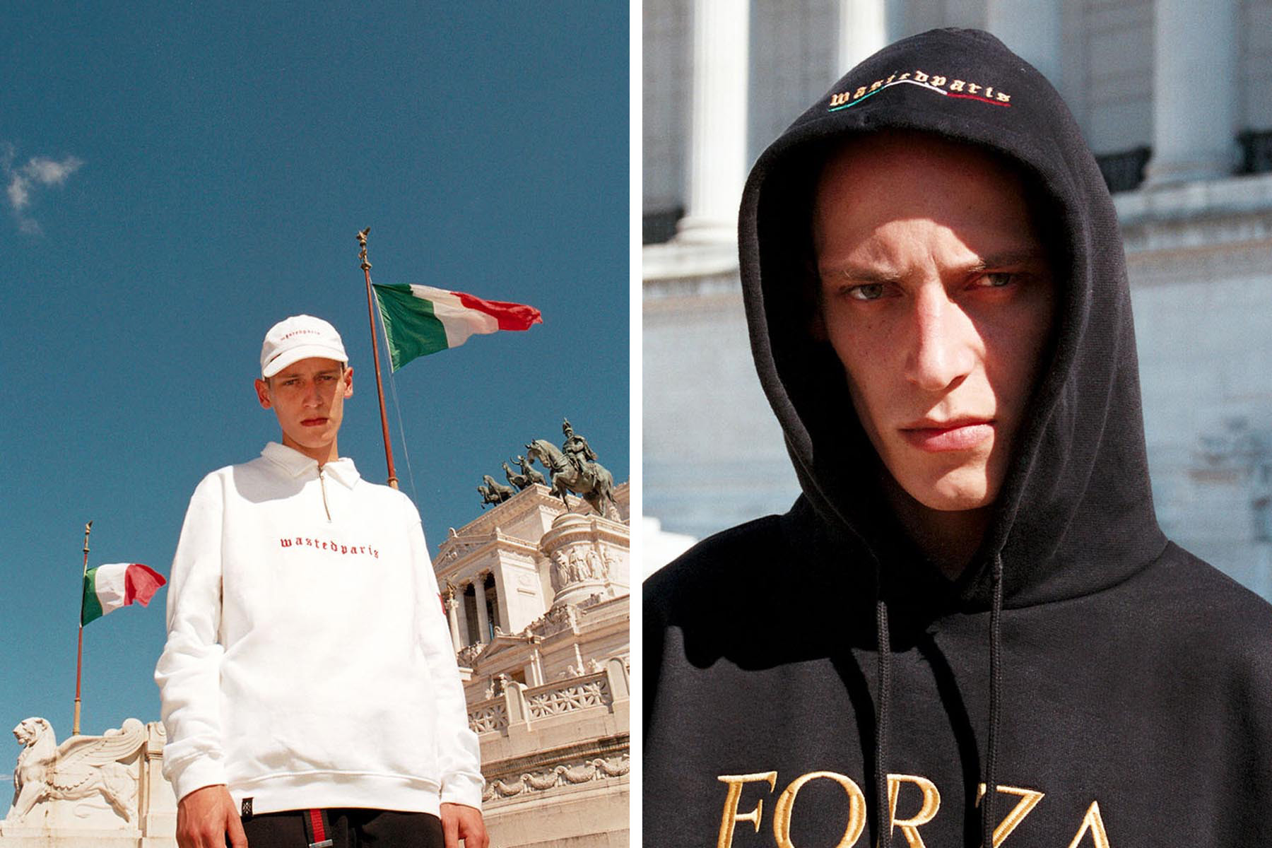 """Wasted Paris SS17 """"FORZA"""" Collection"""