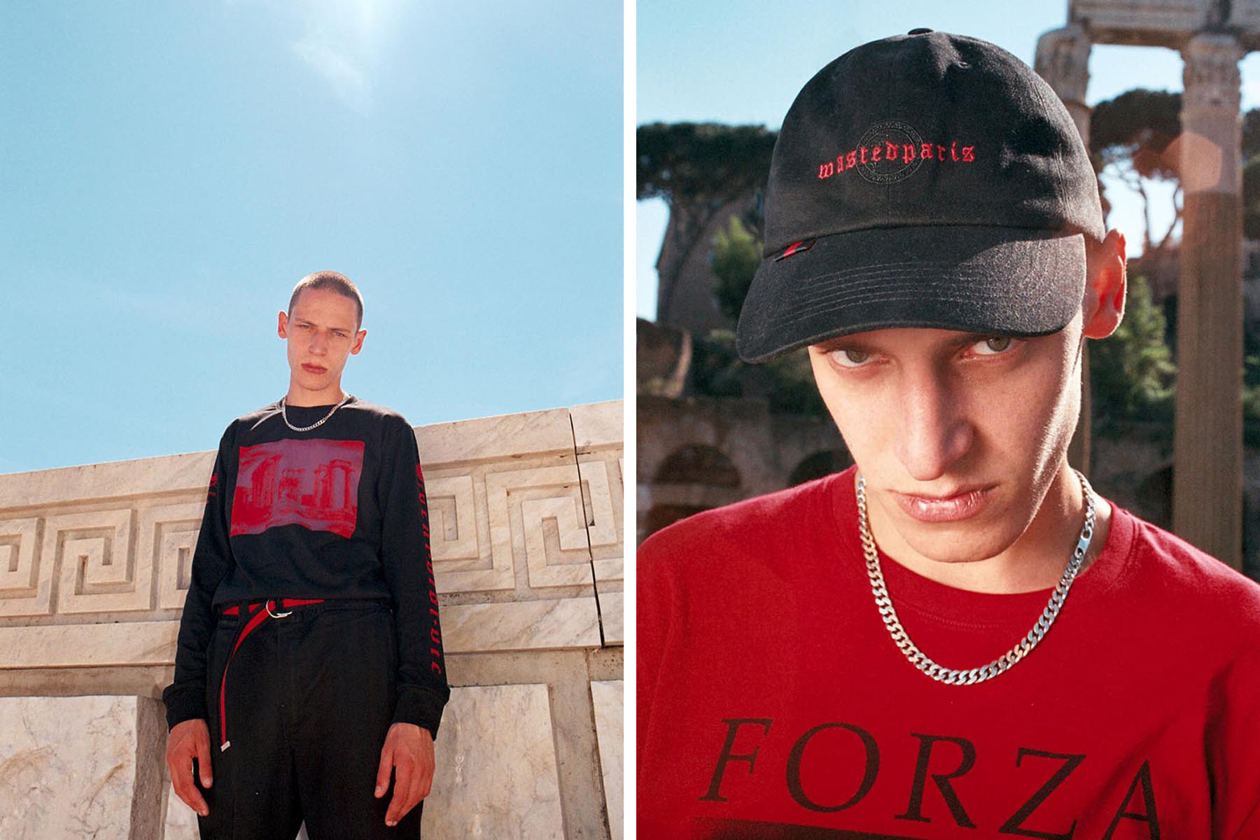 "Wasted Paris SS17 ""FORZA"" Collection"