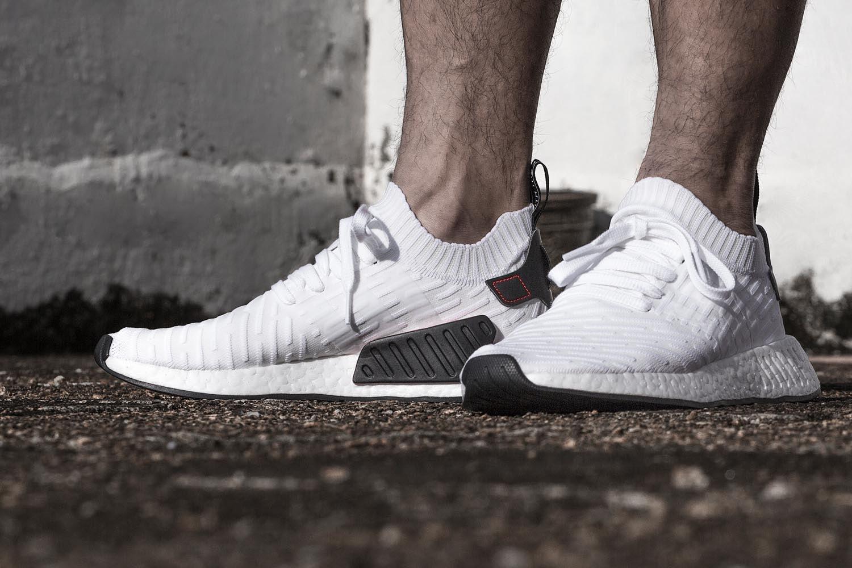 NMD_R2 Primeknit Footwear White/Core Black