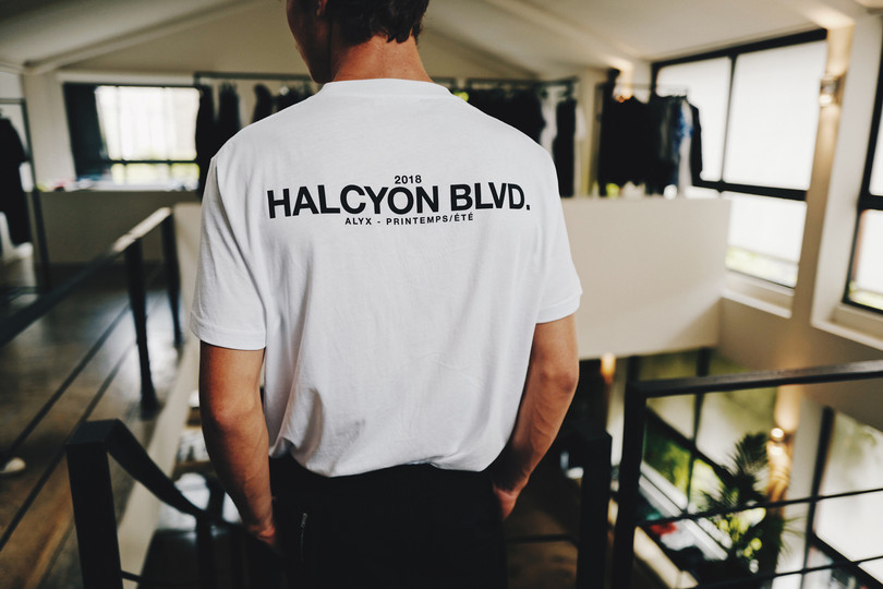 Inside the ALYX Showroom at Paris Fashion Week