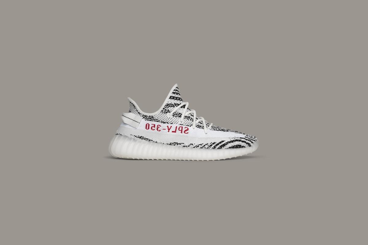 """adidas Originals YEEZY Boost 350 V2 """"Zebra"""" 抽签活动"""