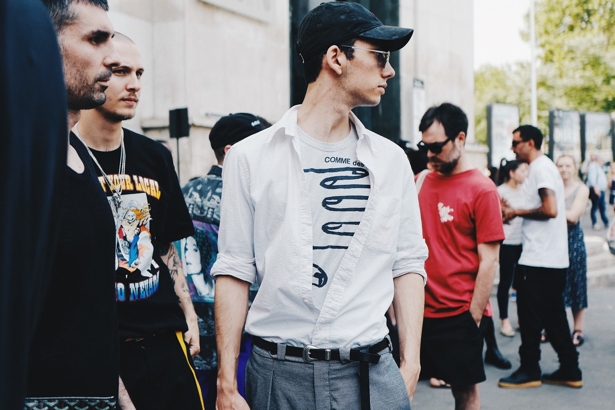 2018 春夏巴黎時裝周街頭4大街頭混搭法則 Part 1