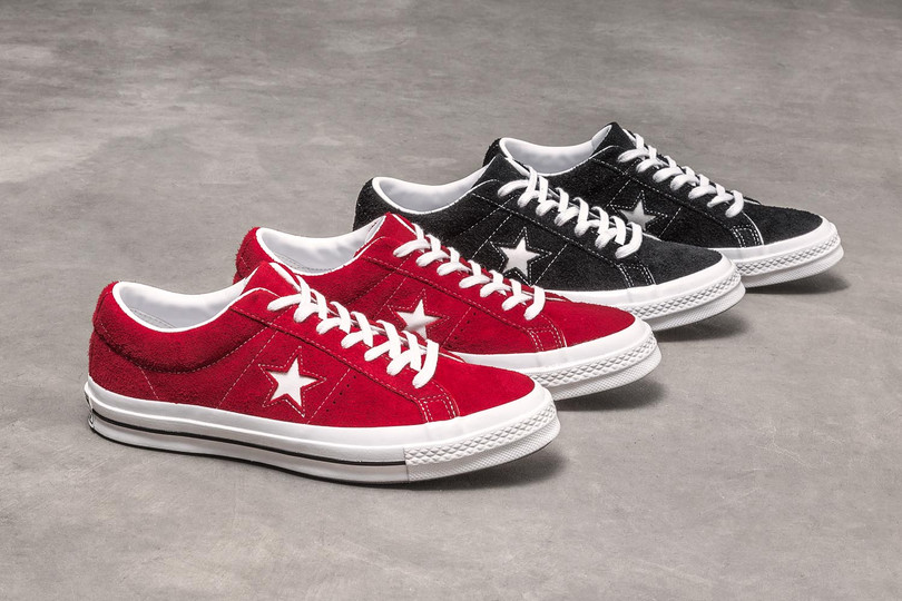 Converse One Star 全新 Premium Suede 現正登場