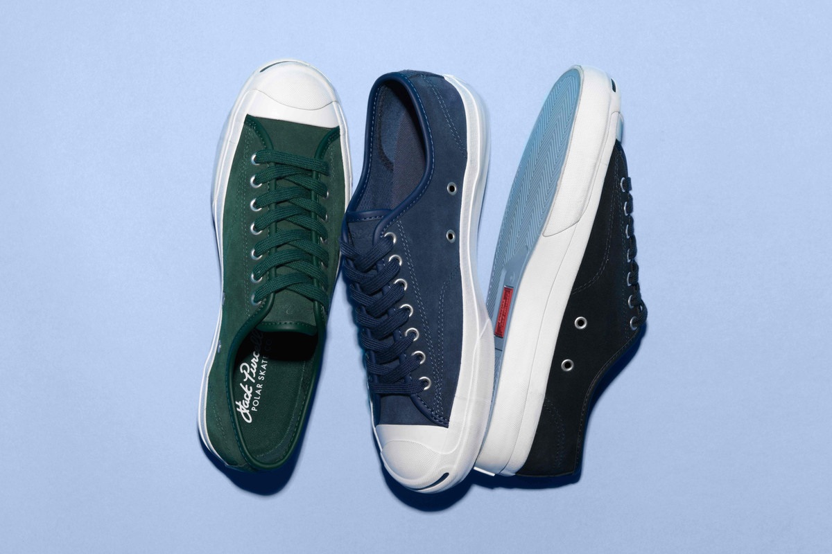 Polar Skate Co. x Converse Jack Purcell Pro.