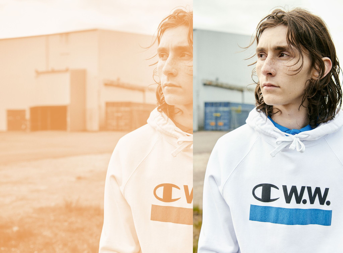 Champion x WOOD WOOD 2017 Fall/Winter Collection