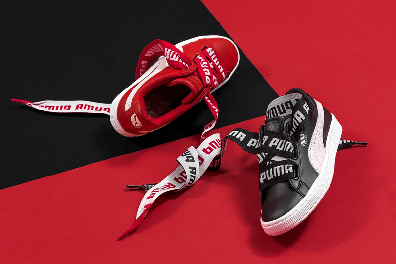 PUMA Basket Heart 登陸