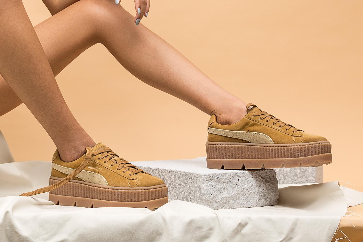 free shipping 29a41 4ef1f Rihanna's FENTY x PUMA Cleated Creeper Is Here | HBX Journal