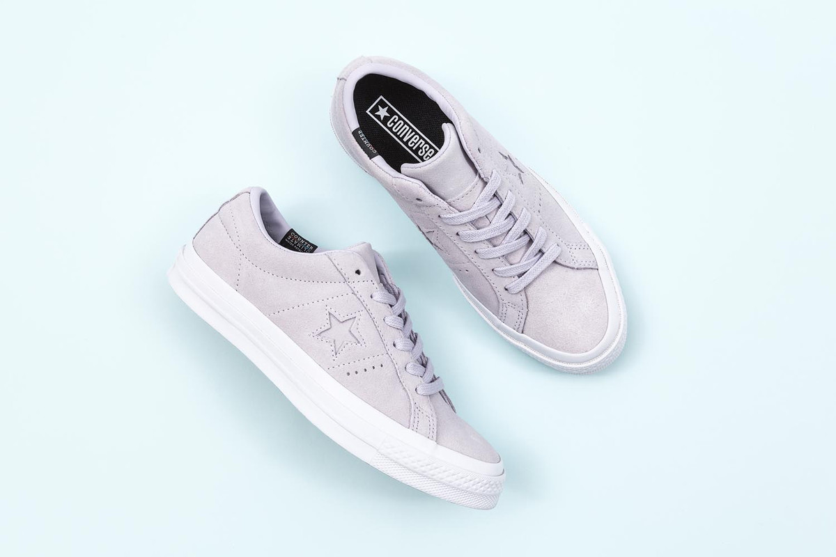 Converse One Star Plush Suede 防水加持