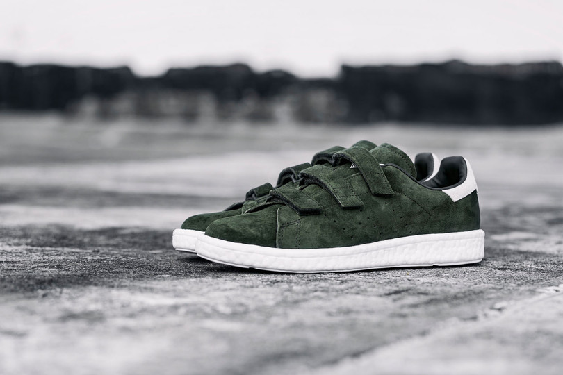 White Mountaineering x adidas Originals WM Stan Smith CF BOOST底加持