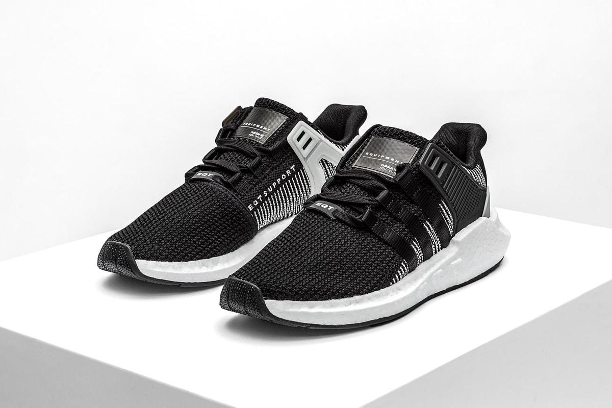 "adidas Originals EQT Support 93/17 ""Core Black/White"""