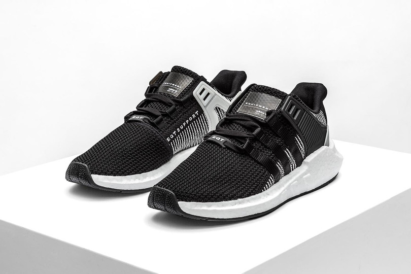 "adidas Originals EQT Support 93/17 ""Core Black/White"""