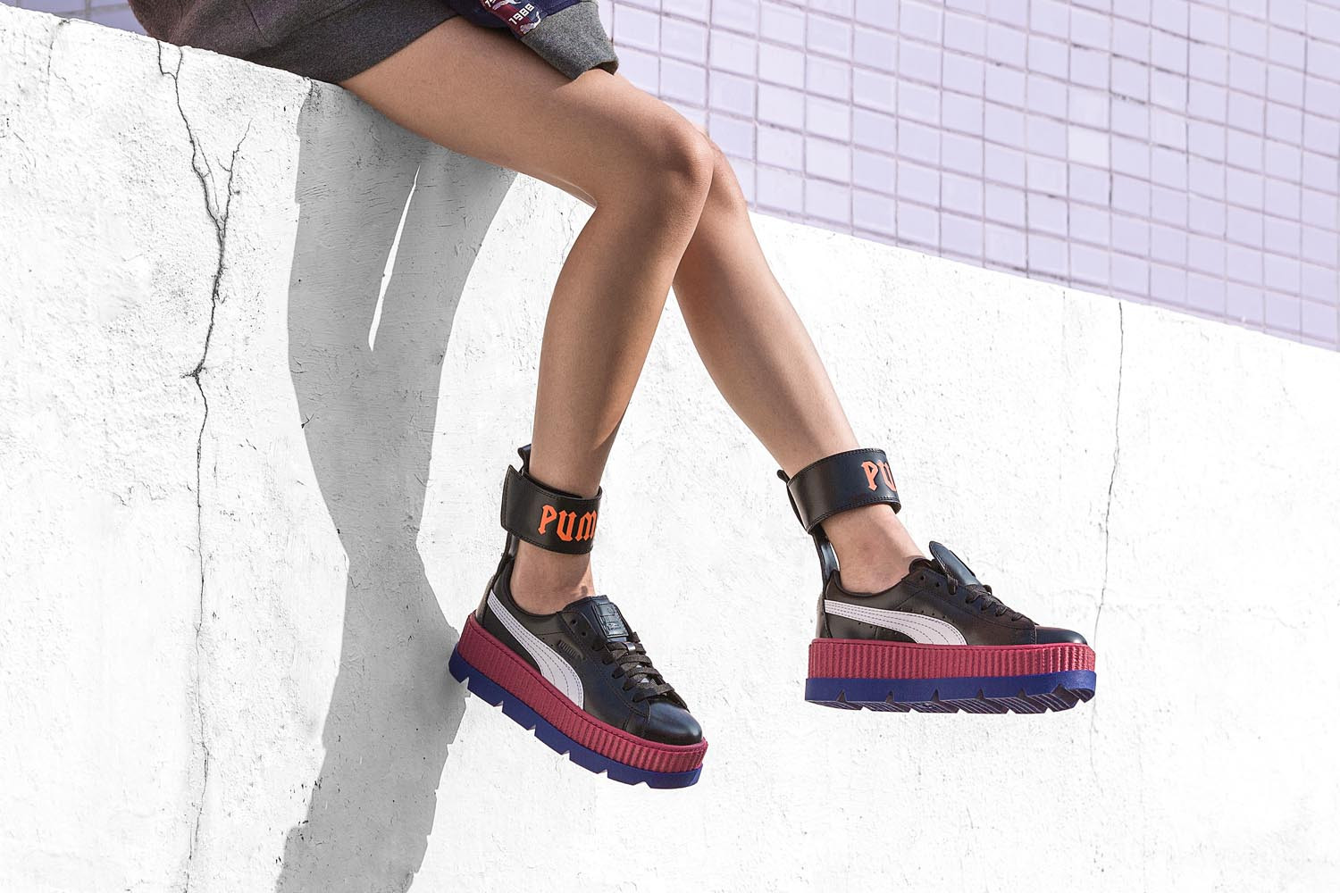 official photos 23125 59c4c Fenty Puma By Rihanna Ankle Strap Creeper | HBX Journal