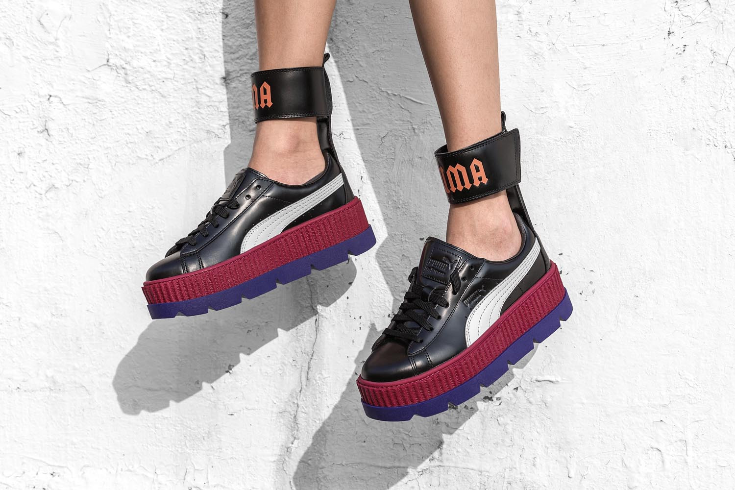 official photos bb18d 3ebde Fenty Puma By Rihanna Ankle Strap Creeper | HBX Journal