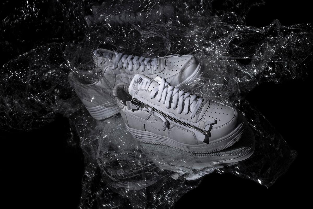 近赏 Nike Air Force 1 35周年联乘鞋款