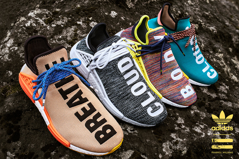 "Coming Soon: Pharrell x Adidas NMD ""Human Race"" 2017 Fall/Winter colorways"