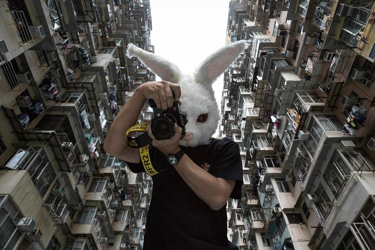 独家追访 Fxxking Rabbits 主理人 #FR2 香港拍摄新季度造型照