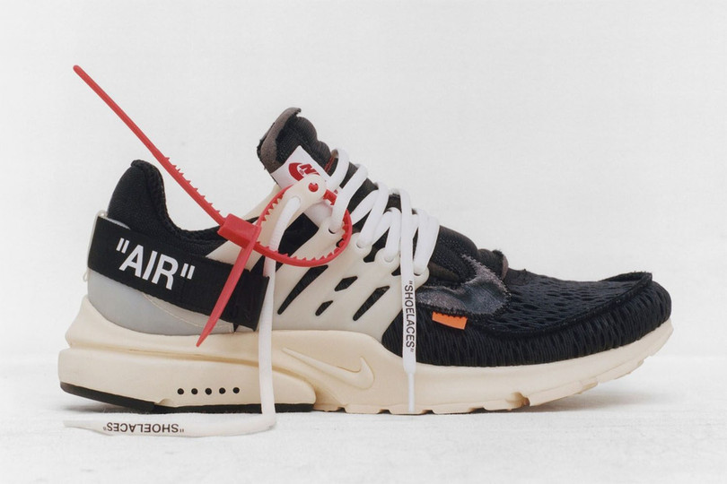 """Virgil Abloh x Nike's """"The Ten"""" Collection: Air Max 90 and Air Presto"""